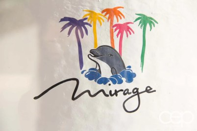 Siegfried & Roy's Secret Garden and Dolphin Habitat — Mirage Logo