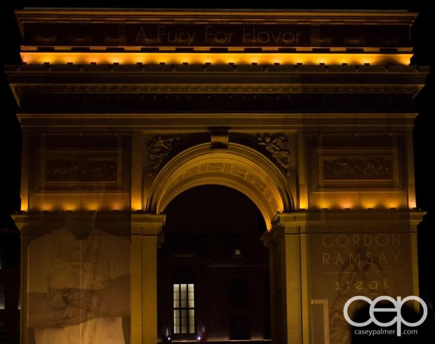 The L'Arc de Triomphe at the Paris Hotel & Casino in Las Vegas