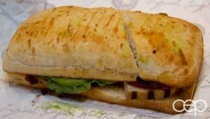 Las Vegas 2013 — Earl of Sandwich — Chipotle Chicken Avocado Hot Sandwich