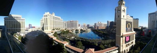 The Cosmopolitan Wraparound Terrace Suite — A Room With a View — Daytime