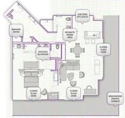 The Cosmopolitan Wraparound Terrace Suite —