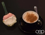 G... for Gelato and Espresso Bar — Chai Latte and Ricotta Pear/Blood Orange Gelato