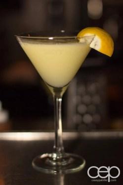 The Martini House — Lemon Drop — Ingredients: Limoncello, Sour Puss Lemon, lemonade