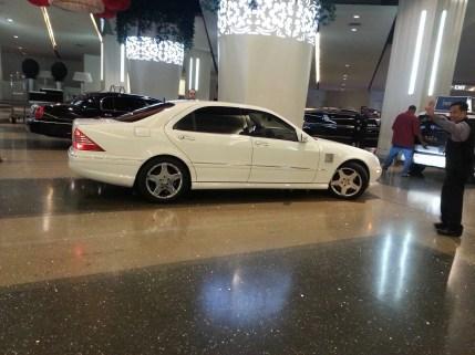 The ride we got to The Cosmopolitan of Las Vegas Hotel & Casino via Las Vegas Limousines
