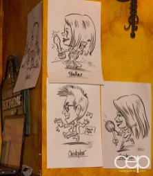 After Work Drinks Toronto 8 — #AWDTO — Caricatures by Valerie White