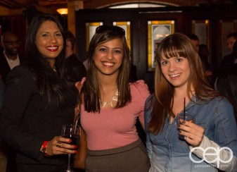 After Work Drinks Toronto 8 — #AWDTO — Friendly Tweeps Shashena, Anum and Jamie
