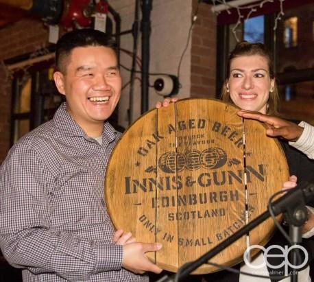 After Work Drinks Toronto 8 — #AWDTO — Henry, winner of the Innis & Gunn Barrel Top
