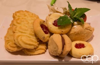 Some assorted cookies from the dessert counter at Karelia Kitchen