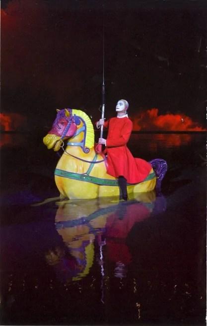 "BiSC and Las Vegas 2013 — The Bellagio — Cirque du Soleil ""O"" — Magazine Photo"
