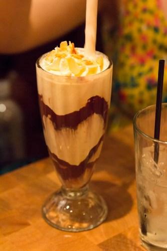 BiSC and Las Vegas 2013 — The Cosmopolitan — Holstein's — Shakes — Black & White Milkshake