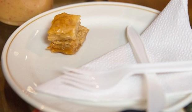 Scarborough Dishcrawl II — Damas Mediterranean Grill and Juice Bar — Baklava
