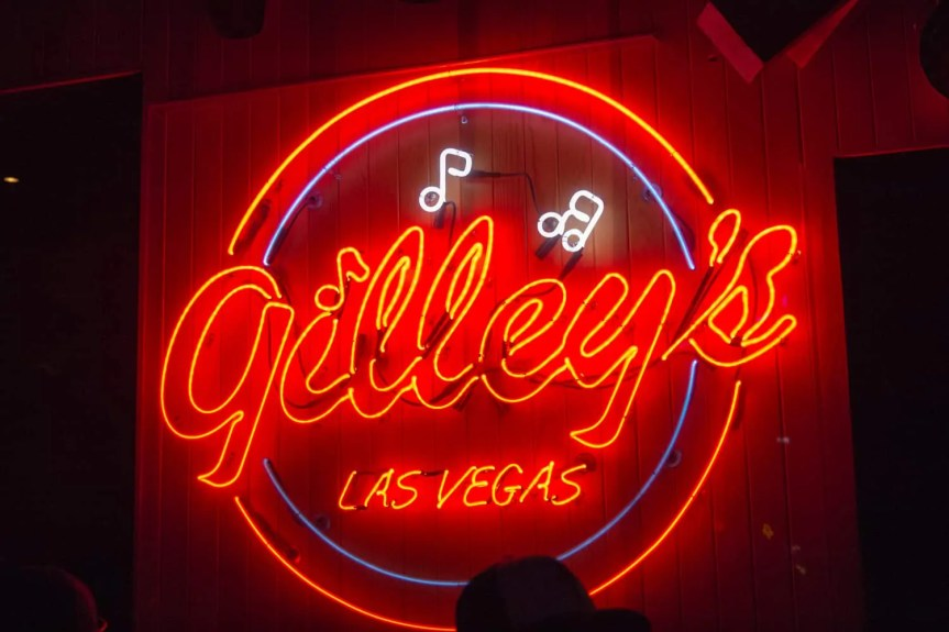 BiSC and Las Vegas 2013 — Gilley's — The Neon Sign