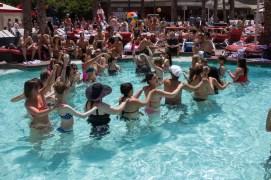 BiSC and Las Vegas 2013 — Flamingo Go Pool — The BiSC-uit Conga Line