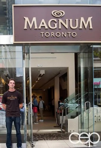 Magnum Pleasure Shop — Front Entrance