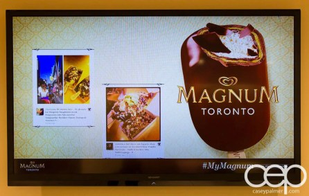 Magnum Pleasure Shop — The #MyMagnum Sign Board