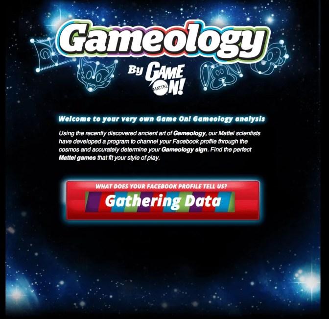 Mattel Game On! Gameology — Intro to the Gameology Quiz