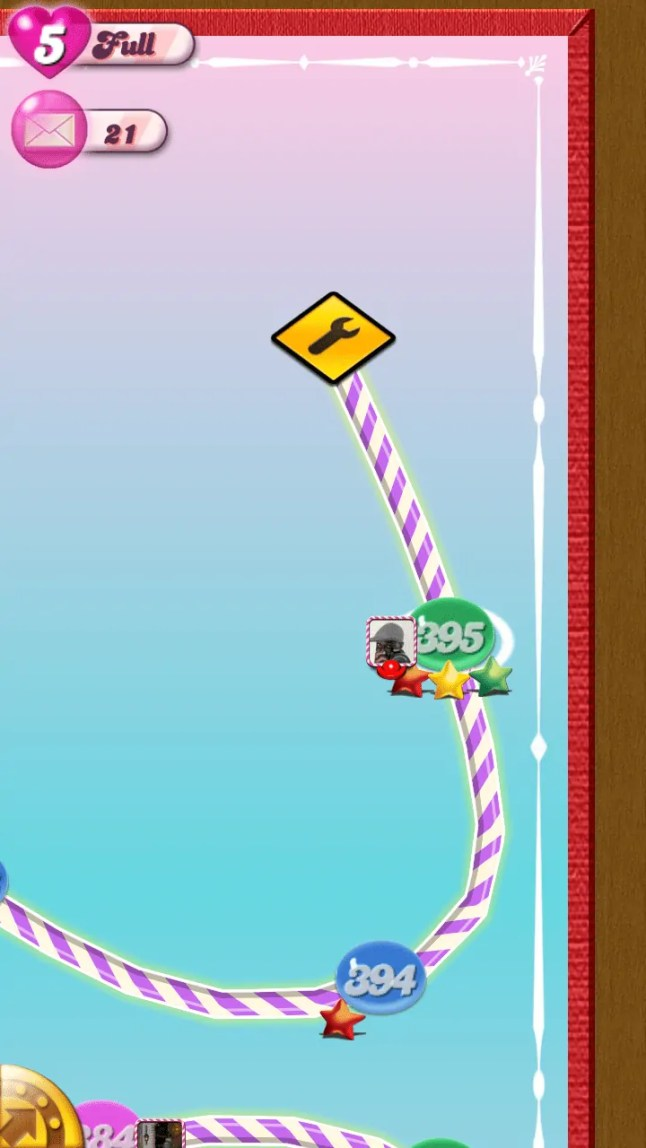 Candy Crush Saga End of the Road