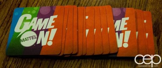 Mattel Game On! Gameology — Coasters