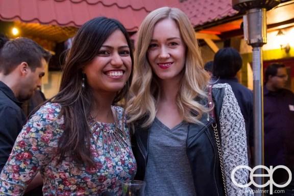 TacoTweetup — Anum Khan and Nicole Wilson