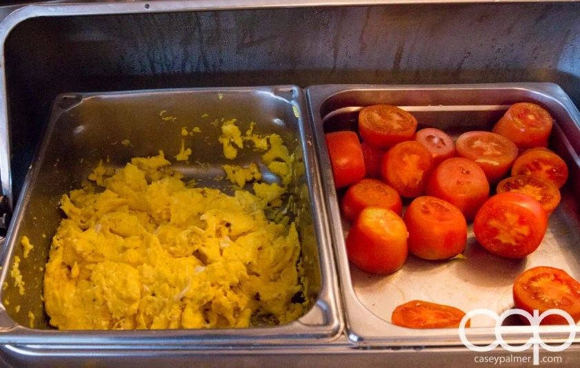 Viamede Resort & Dining — 1885 — Scrambled Eggs and Tomatoes