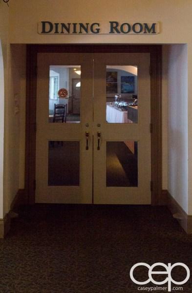 Viamede Resort & Dining — 1885 — Entrance