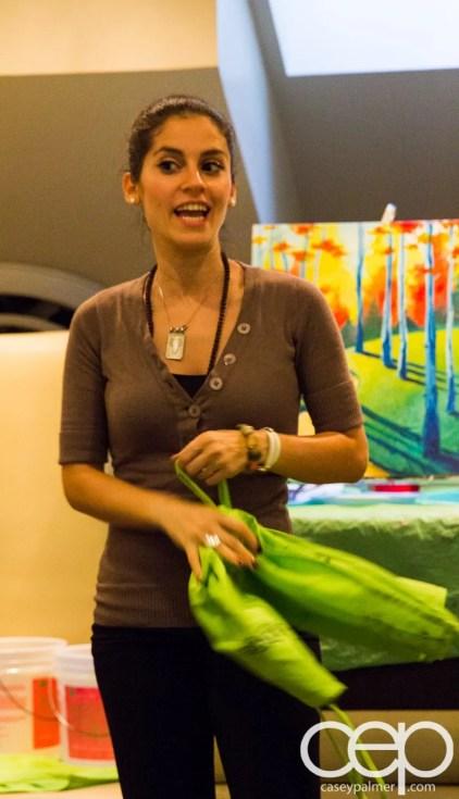 #BuytopiaPaintNite — Paint Nite Toronto — Banu — Angela Nurpetlian's opening remarks