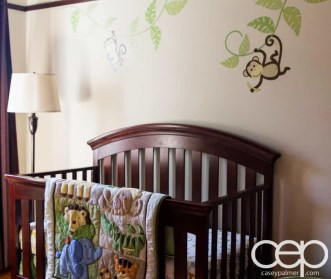 The DoomzToo Birth Story — The Nursery — Crib and Decals