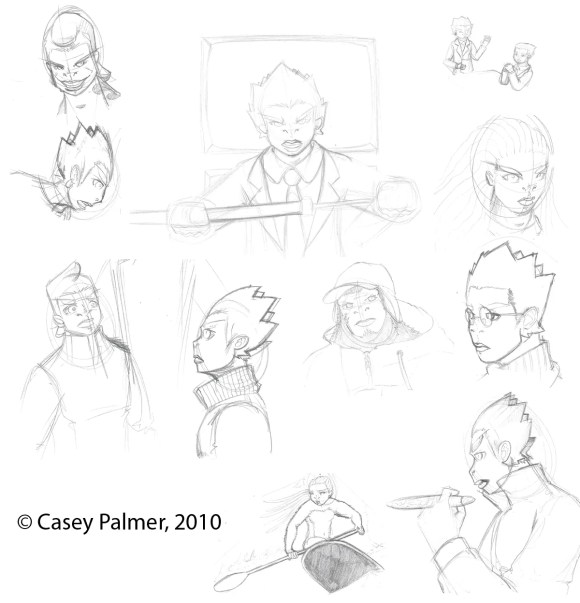 Sketchdump February 4, 2010