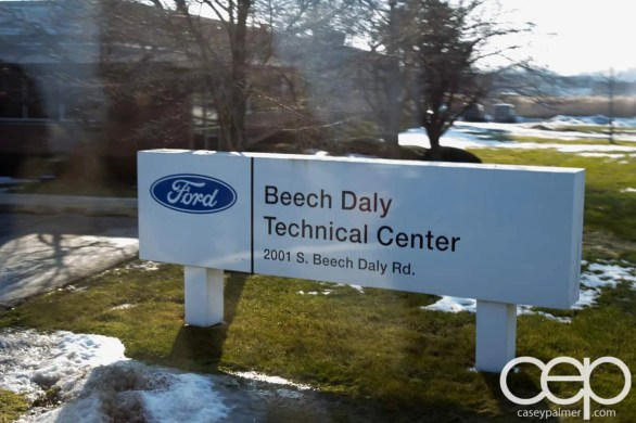 #FordNAIAS 2014 — Day 3 — Learning Sessions — Beech Daly Technical Center — 3D Printing Demo — Entrance