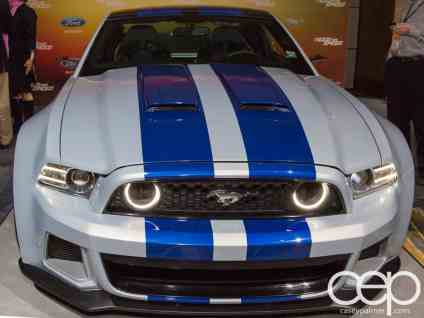 #FordNAIAS 2014 — Day 2 — Cobo Hall — Behind the Blue Oval — Need for Speed Screening — 2014 Ford Mustang in Need for Speed