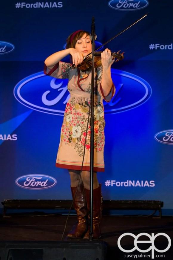 #FordNAIAS 2014 — Day 1 — The Westin Lindbergh Ballroom — Dinner Event — The Moth Storytelling Presentation — Erin Zindle