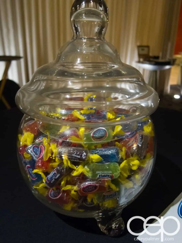 #FordNAIAS 2014 — Day 1 — Westin Detroit Metropolitan Airport — #FordNAIAS Media Lounge — Jolly Ranchers