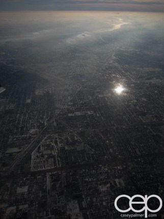 #FordNAIAS 2014 — Day 1 — YYZ to DTW — Aerial Shots