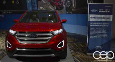 #FordNAIAS 2014 — Day 2 — Behind the Blue Oval — Safe — Ford Edge Concept