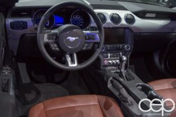 #FordNAIAS 2014 — Day 2 — Cobo Hall — North American International Auto Show — Ford Motor Company — 2015 Ford Mustang — Interior