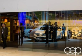 #FordNAIAS 2014 — Day 2 — Cobo Hall — North American International Auto Show — Lincoln — Lincoln MKC Presents the Shinola Gallery — Entrance