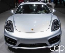 #FordNAIAS 2014 — Day 2 — Cobo Hall — North American International Auto Show — Porsche — 2014 Porsche Cayenne Platinum Edition