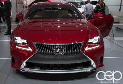 #FordNAIAS 2014 — Day 2 — Cobo Hall — North American International Auto Show — Lexus — Lexus RC Coupe