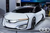#FordNAIAS 2014 — Day 2 — Cobo Hall — North American International Auto Show — Honda — Honda FCEV Concept
