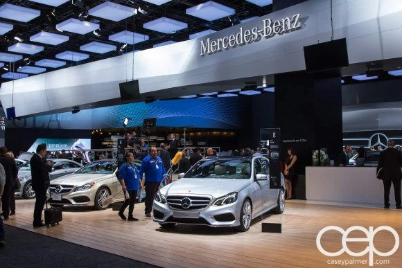 #FordNAIAS 2014 — Day 2 — Mercedes-Benz — Booth