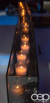 #FordNAIAS 2014 — Day 2 — Cobo Hall — Behind the Blue Oval — Need for Speed Screening — Ambience — Candles