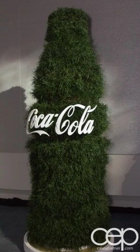 #FordNAIAS 2014 — Day 2 — Cobo Hall — Behind the Blue Oval — Green — Grassy Coca-Cola Bottle