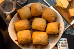 Team Trolling Christmas 2014 — Food — Pulled Pork Sandwiches from Memphis Fire BBQ in Vaughan