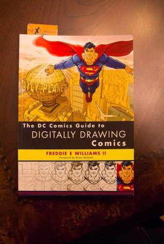 #100HappyDays — Day 15 — The DC Comics Guide to Digitally Drawing Comics
