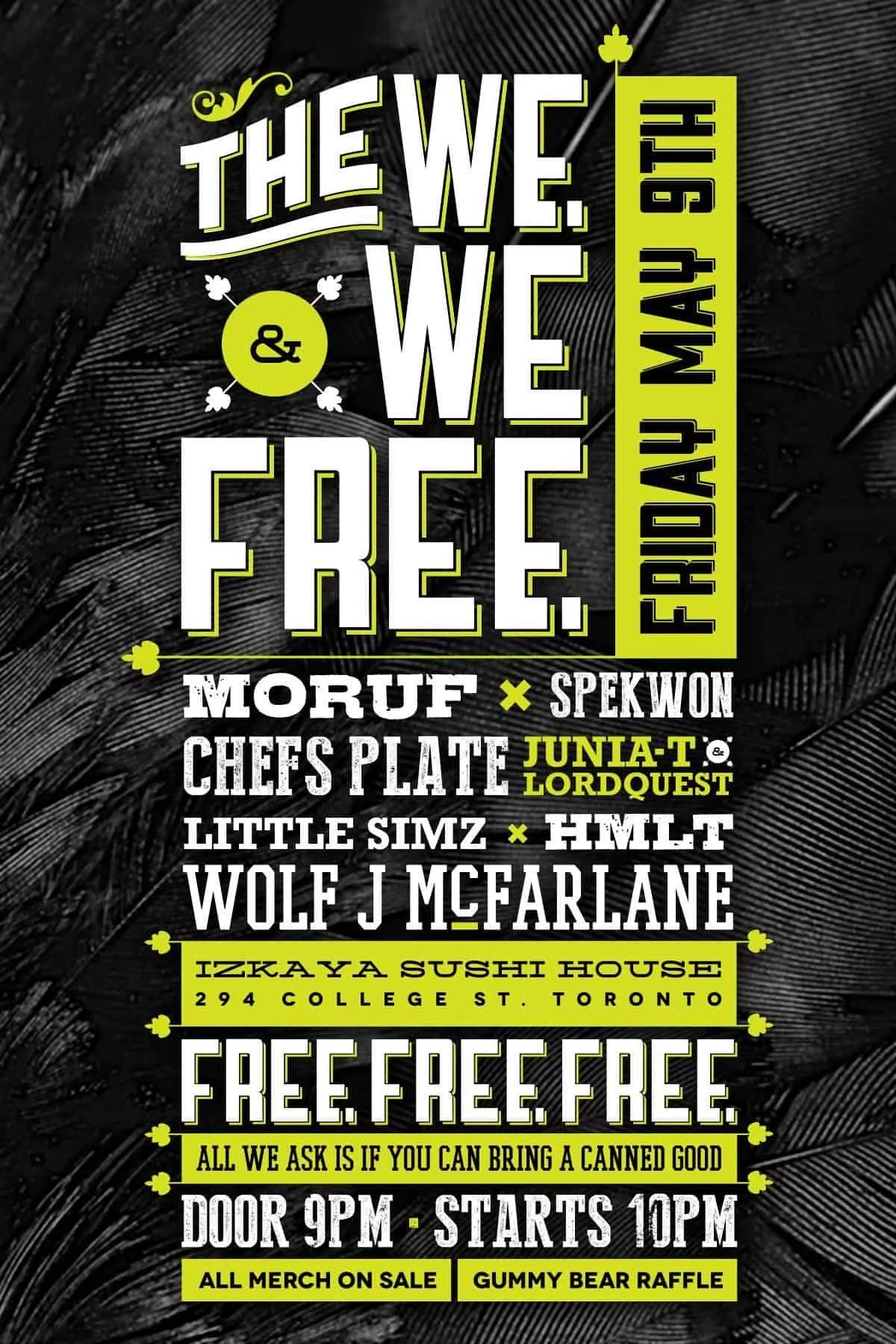 The We. & We Free. Promotional Poster