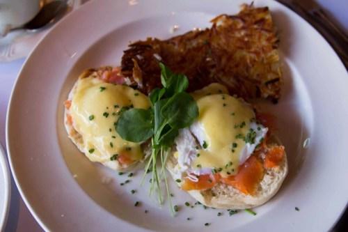 #60Days in Paradise — Las Vegas — Mon Ami Gabi — Salmon Eggs Benedict