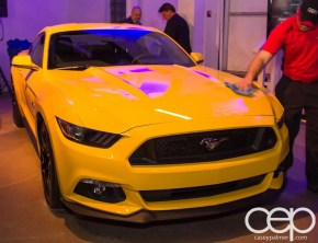Ford Motor Company of Canada — #FordMustang50 — 2015 Ford Mustang — Yellow