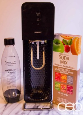 SodaStream at My Little One's Dedication — SodaStream Source, Ready for Action!