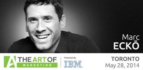The Art of Marketing—Toronto 2014—Twitter Image—Marc Ecko