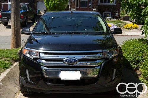 Armor All Spring Cleaning Post — 2011 Ford Edge — Start